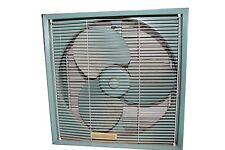 Vintage Super Rare General Electric Green Box Fan Window Fan WORKS!