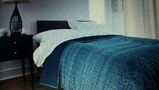 Deyongs Strauss Washed Denim Bedspread BNWT RRP £120 - Reduced For Quick Sale