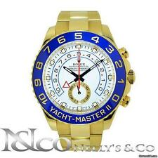 Rolex Yacht Master II - 18K Yellow Ceramic Bezel Men's Watch