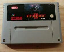 Super Nintendo (SNES) - Mortal Kombat 2