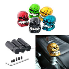 5Color Skull Head Universal Car Truck Manual Stick Gear Shift Knob Lever Shifter