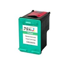 1 remanufacturados de tinta de color para HP 75XL CB338WN J5780