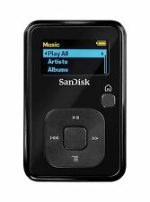 4GB SANDISK SANSA CLIP PLUS + DIGITAL MP3 PLAYER - VOICE RECORDER - FM RADIO