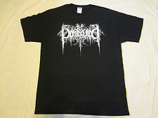 BE PERSECUTED logo SHIRT XL,Nyktalgia,Luror,Happy Days,Forgotten Woods,The Chasm