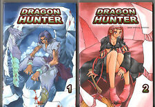 LOT de 2 MANGA DRAGON HUNTER n°1-2 # SEO HONG-SEOCK # TOKEBI