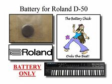 Battery for Roland D-50 Linear Synth - Internal Memory Replacement Battery