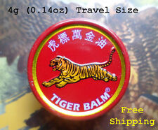4g Tiger Balm Herbal Relieves Muscular Pain, Dizzing, Insect bites, Swelling