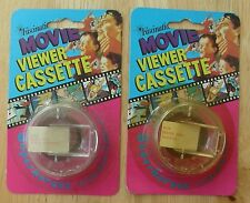 Vintage Cartoon Micro Viewer Movie Cassettes 2 by Fascinations