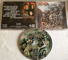 Typhoid - Ruptured Self Control CD ORG IMMORTAL SOULS 1st press 1999 insision
