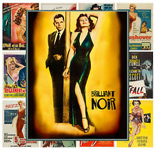 "Mini Posters [13 posters 8""x11""/A4] Film Noir Sexy Lady Vintage Movie MP459"