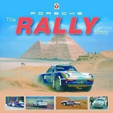 PORSCHE THE RALLY STORY by Laurence Meredith AUTOGRAPHED by VIC ELFORD