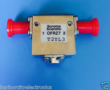 T2YL3 SONOMA SCIENTIFIC ISOLATER CIRCULATER 2.5 GHZ 1W SMA FEMALE 1.2 VSWR