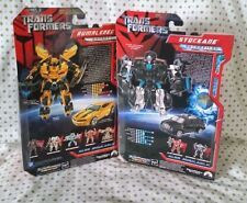 TransFormers Stockade Camaro Racing BumbleBee Movie 07 Lot G1 Titans Return TLK
