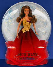 2016 HOLIDAY BARBIE NRFB RED dress Brunette Peace Hope Love collection Happy New