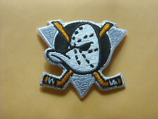 "VINTAGE NHL ANAHEIM MIGHTY DUCKS IRON ON PATCH 2"" X 2 1/2"""