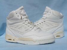 Vintage 1990 Nike Air Flight 90 White/White Solo Jordan Force OG Size 8.5