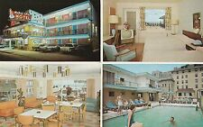 Mardis Gras Motel Morris Ave & Boardwalk in Atlantic City NJ 1968