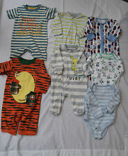 BABY BOYS CLOTHING BUNDLE NEXT GEORGE ETC ,7  ITEMS AGE 0 / 3 MONTHS - B16