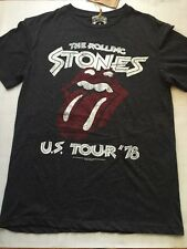 Amplified Rolling Stones U.S Tour '78 Mens T-shirt Small, Medium, Large, XL