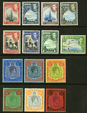 Bermuda  1938-51  Scott #118-128  Mint Lightly Hinged Set