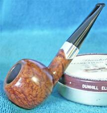 STUNNING! S. BANG LARGE THICK APPLE STRAIGHT GRAIN FREEHAND DANISH Estate Pipe