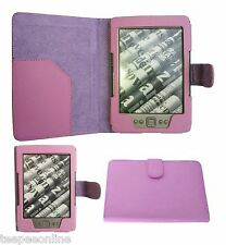 "Para AMAZON KINDLE 6"" & PAPERWHITE & KINDLE 4 TOUCH Cuero Estuche Cubierta"