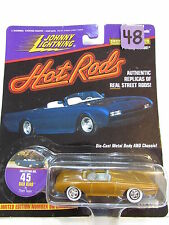 JOHNNY LIGHTNING HOT RODS #45 BAD BIRD BY THOM TAYLOR - GOLD