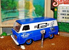 1965 65 FORD ECONOLINE VAN CUSTOM LIMITED EDITION 1/64 M2 HIGHLY DETAILED