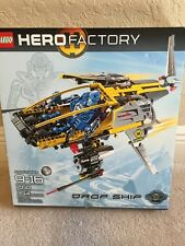 LEGO HERO FACTORY 7160 NRFB AGES 9+ DROP SHIP BIONICLE 394 PIECES BUILDING TOY