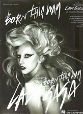 Lady GaGa    Born This Way     US Sheet Music