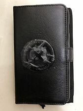 Mimco Tech Flip Case Iphone 6 plus Leather Black supernatural Icon