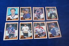 8-1984-85 O-PEE-CHEE ALL STARS WITH BRYAN TROTTIER & RAY BOURQUE