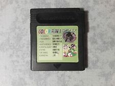8 IN 1 COLOR MULTICART DR MARIO TETRIS BUSTA A MOVE KLAX PUFFI NINTENDO GAME BOY