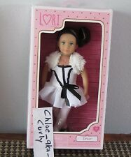 LORI Our Generation Doll Drea Brunette Blue eyes White Dance BALLET outfit 6""