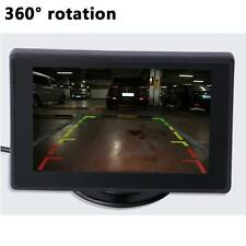 Car SUV Reversing Rear View License Plate Infrared Camera LCD Screen Display  KJ