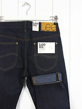NEW LEE 101S 12 1/2OZ   JEANS  DRY DENIM SELVEDGE SLIM TAPERED #2  W29 L32 29X32