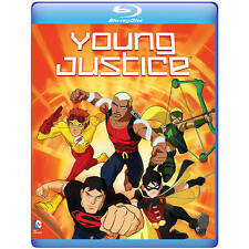 Young Justice: The Complete First Season (Blu-ray Disc, 2014, 2-Disc Set)