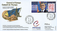 "CE64-IVA FDC Council of Europe ""Visit Mr. SARGSYAN, Président Armenia"" 10-2013"