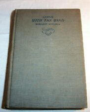 1936 GONE WITH THE WIND The South in Civil War MARGARET MITCHELL Scarlet O'Hara
