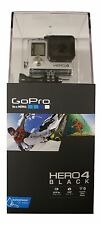 New GoPro HD Hero4 Black Edition Hero 4 CHDHX-401 4K 12MP Camcorder-Camera