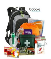 Emergency Survival Kit Go Grab Bag - Medium Size - Ideal for Car, Hikers, Home