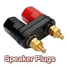 1 pair Amplifier Terminal Binding Post Banana Plug Jack