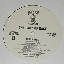 "THE LADY OF RAGE afro puffs 12"" RECORD PROMO SNOOP DOGGY DOGG DR DRE DAZ 1994"