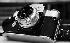 Framed Print - Black and White Vintage Camera (Picture Photography Photo Art)