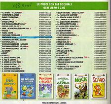 stock 8 libri nuovi la spiga- piccoli lettori - bambini 8-10 anni - 12 euro -