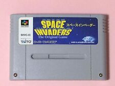SPACE INVADERS Nintendo Super Famicom Japan SNES SFC game FREE Shipping USED