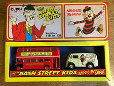 Corgi - D47/1 - The Bash Street Kids AEC Bus & Minnie the Minx Morris J Van