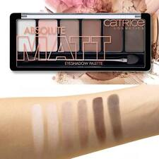 Catrice Absolute Matt Eyeshadow Palette from soft pink to intensive brown best