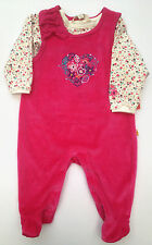 ••• ВNWT KANZ • Velvet Embroidered Outfit 2 Piece Set • Cotton-RIch • 0-3 Months