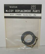 Vintage Testors McCoy Gasket Set 1960M  Engines Airplane Part 8117 Blk Pkg NOS